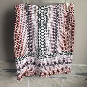 JCREW gorgeous spring pencil skirt